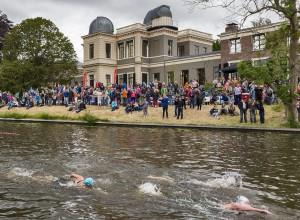 Speedo Swim-in Leiden in de Wittesingel
